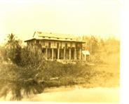Above: Building of Villa Tafika in 1895, The house Rhoades, the captain of the HMS Guendolin with the kind permission and friendly support from the archives of Society of Malawi at Mandala House, Blantyre)